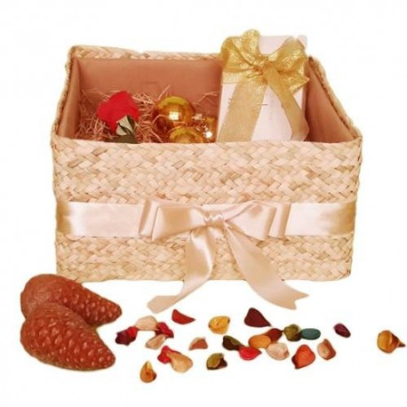 جعبه هدیه حصیری- تاشو